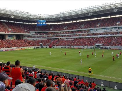 Os 10 maiores públicos e rendas da Arena Pernambuco em jogos envolvendo clubes