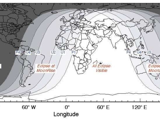 Eclipse, Marte y charlas