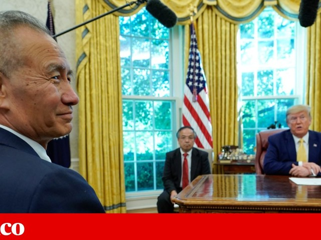 Estados Unidos e China chegam a princípio de acordo. Trump suspende tarifas acrescidas