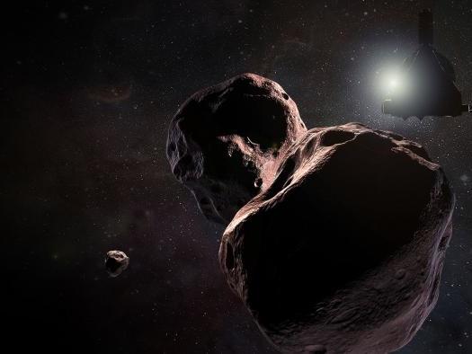 NASA libera mais uma imagem em boa resolução do objeto Ultima Thule