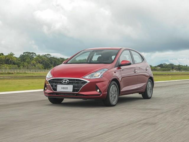 Hyundai HB20 parte de R$ 46.490 com motor 1.0 sem turbo