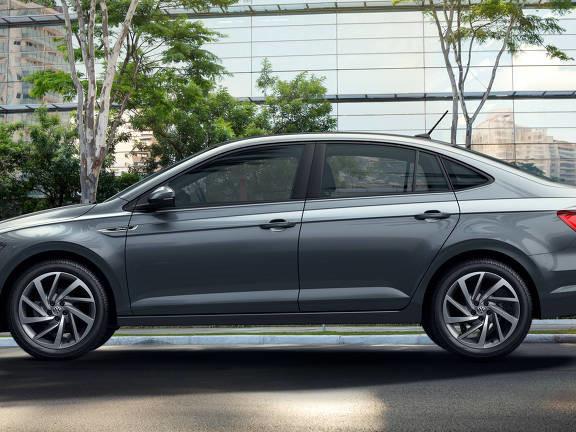 Volkswagen lança o sedã compacto Virtus, produzido em São Paulo