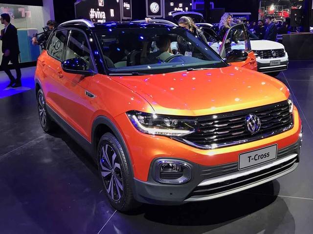 Salão do Automóvel 2018: Volkswagen T-Cross chegará no primeiro trimestre de 2019