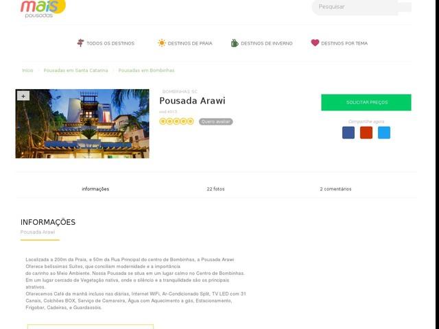 Pousada Arawi - Bombinhas - SC