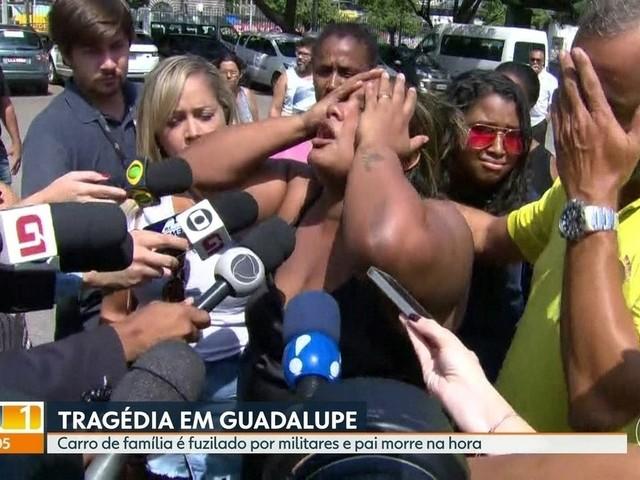 'Ficaram de deboche', diz viúva sobre atuação de soldados que fuzilaram carro em Guadalupe