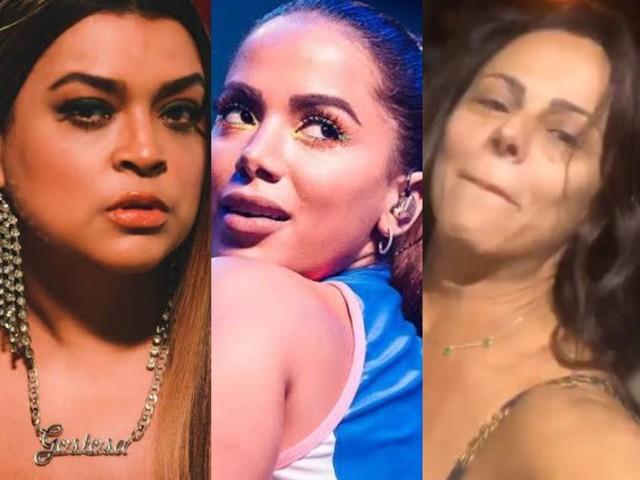 """Coluna dos Famosos: Amigo de Anitta, David Brazil leva esporro de Preta Gil e Viviane Araújo manda Belo """"pra casa do caralh*"""""""