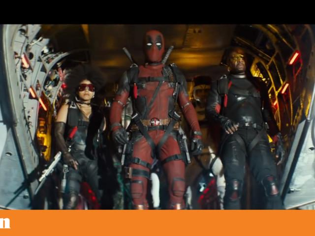 Ryan Reynolds está de volta no novo <i>trailer</i> de <i>Deadpool 2</i>