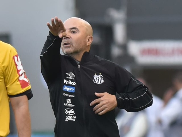 "Re: Sampaoli vê empate injusto do Santos: ""Resultado angustiante pelo domínio"""