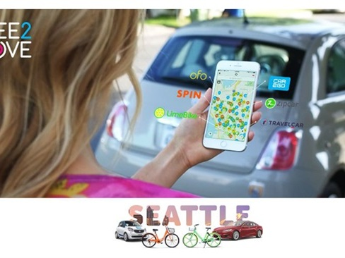 Groupe PSA Launches Mobility Brand in Seattle