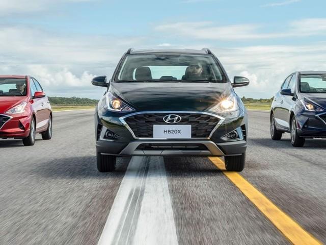 Novo Hyundai HB20 2020 fotos das versões hatch, seda e aventureira