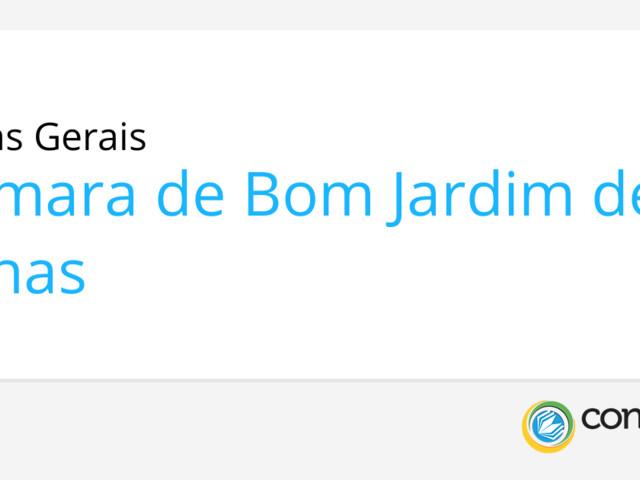 Concurso Câmara de Bom Jardim de Minas - MG: Edital e inscrição