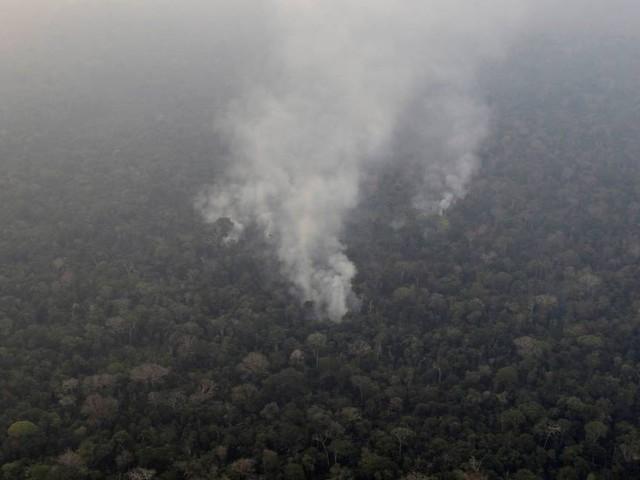 No Diário Oficial, Bolsonaro determina que ministros atuem contra queimadas