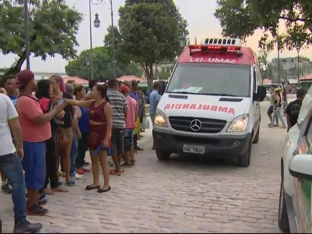 Polícia diz que há indícios de acerto de contas em tiroteio que deixou feridos no Centro de Manaus