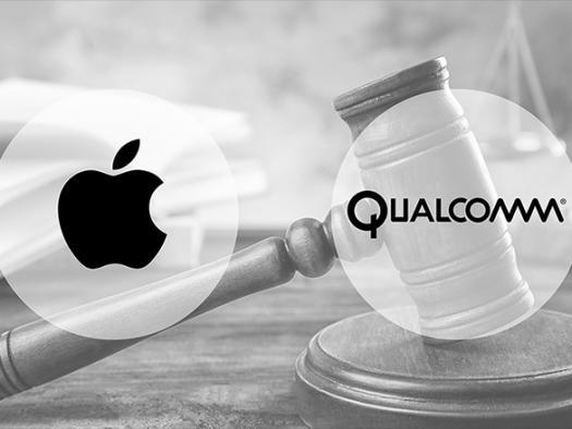Presidente da Qualcomm acredita que guerra judicial contra Apple está terminando