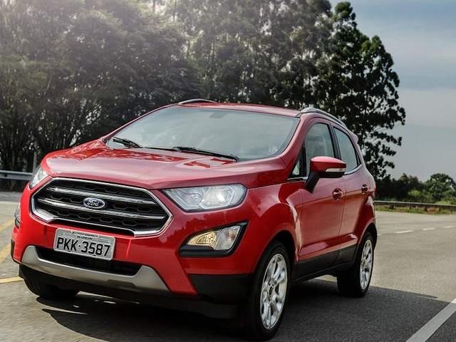 Ford demonstra o novo EcoSport 2018 nas concessionárias