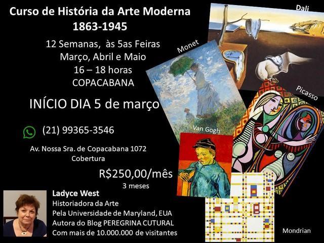Curso de História da Arte Moderna