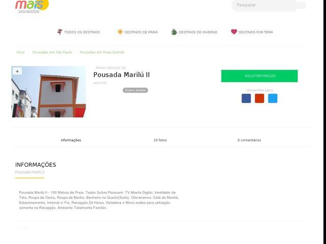 Pousada Marilú II - Praia Grande - SP
