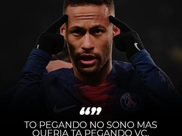 Neymar renova o acervo de Memes da internet brasileira
