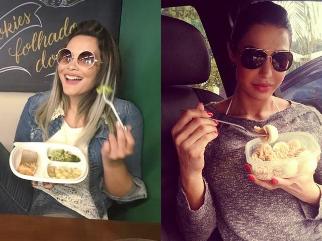Descubra quais famosos aderiram ao uso de marmita para não fugir da dieta; saiba o que eles comem