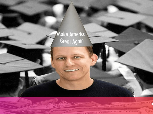Peter Theil's attacks on higher education are boring