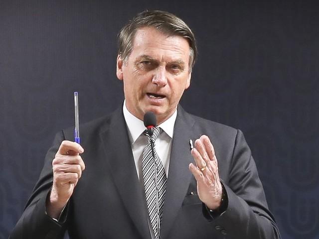 """""""Maravilhosos"""", diz Bolsonaro sobre dados da economia"""