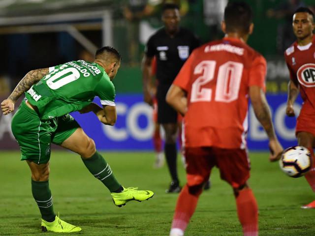 Veja os gols de Chapecoense 1 x 1 Unión la Calera na Arena Condá