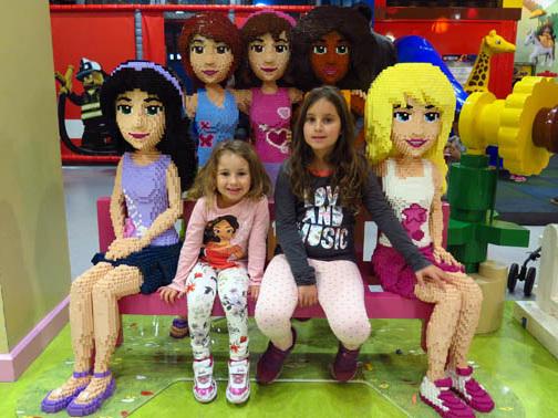 Vá ao Legoland Discovery Centre perto de Toronto
