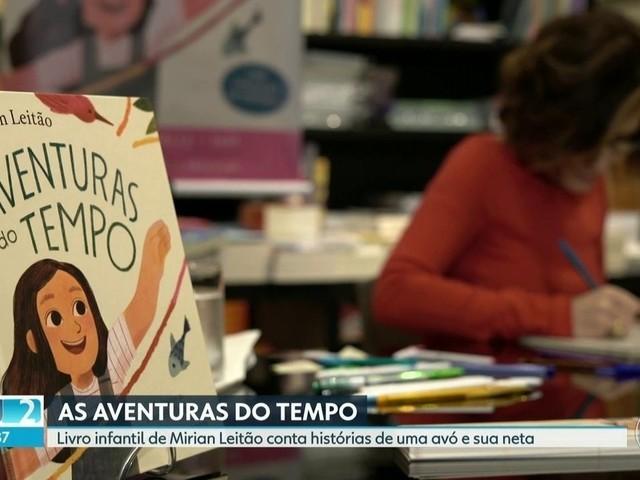 Jornalista e escritora Miriam Leitão lança, no Rio, seu sexto livro infantil