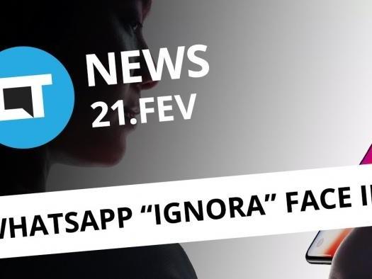 """WhatsApp burla proteção no iOS; Facebook deixa de te """"espionar"""" e+ [CT News]"""
