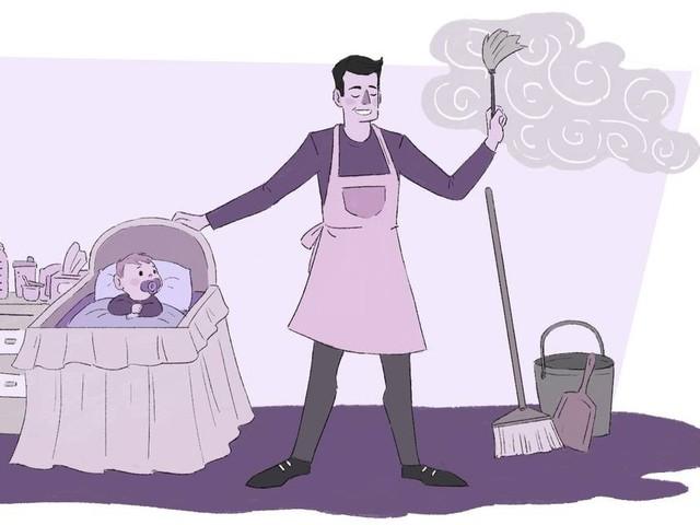 No Brasil, 26% acham que homem que fica em casa para cuidar dos filhos é 'menos homem'