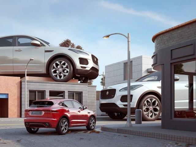 Jaguar E-Pace é lançado nos Estados Unidos - Detroit