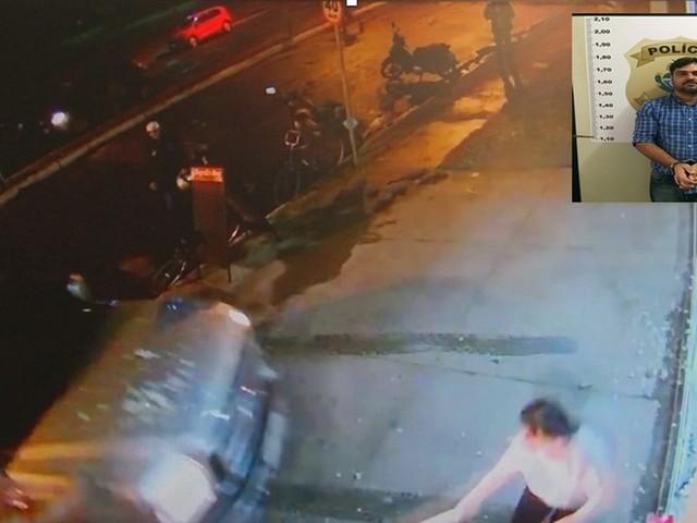 Homem que prensou mulher contra parede é preso; vítima passou por 10 cirurgias