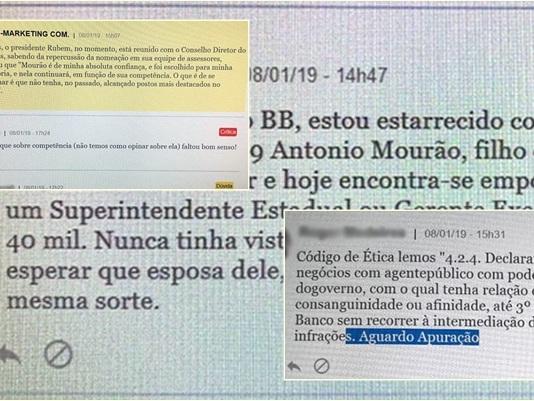Funcionários do Banco do Brasil se revoltam com 'promoção' do filho de Mourão