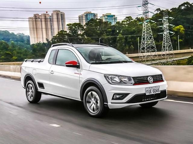 Volkswagen Saveiro e up! 2018 ganham versão Pepper