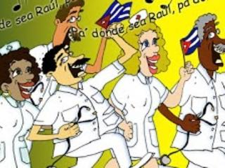O Tráfico de jalecos brancos ( Médicos e paramédicos Cubanos)
