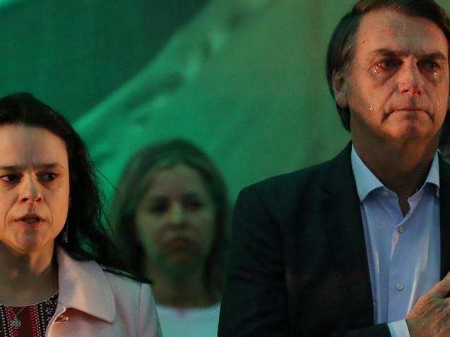 Discurso de Janaína irrita aliados de Bolsonaro