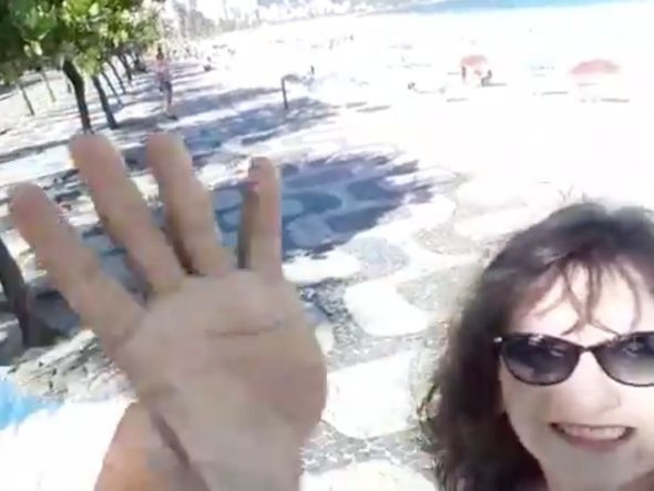 Tourist Accidentally Captures Her Own Mugging on Camera at Rio's Arpoador