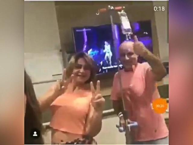 Em vídeo, Queiroz dança enquanto recebe soro em hospital de SP