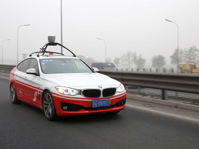 Baidu pretende compartilhar seu sistema para carros autônomos