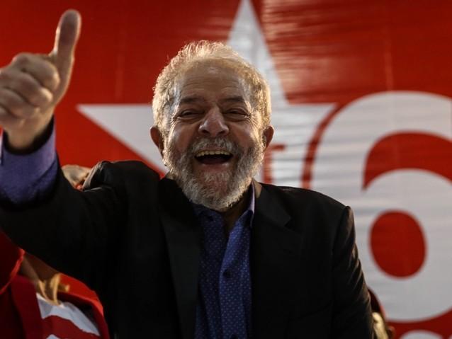 Datafolha: Lula dispara