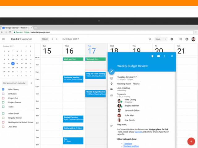 Google atualiza o visual de seu Calendário para desktop