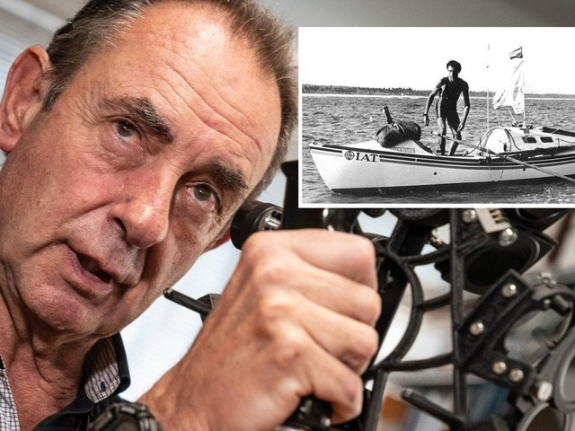 Amyr Klink comemora 35 anos da travessia do Atlântico em um barco a remo: 'Se fosse hoje, eu estaria no Instagram'
