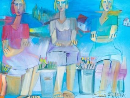 Galeria Bublitz recebe exposição com telas de Flávio Scholles