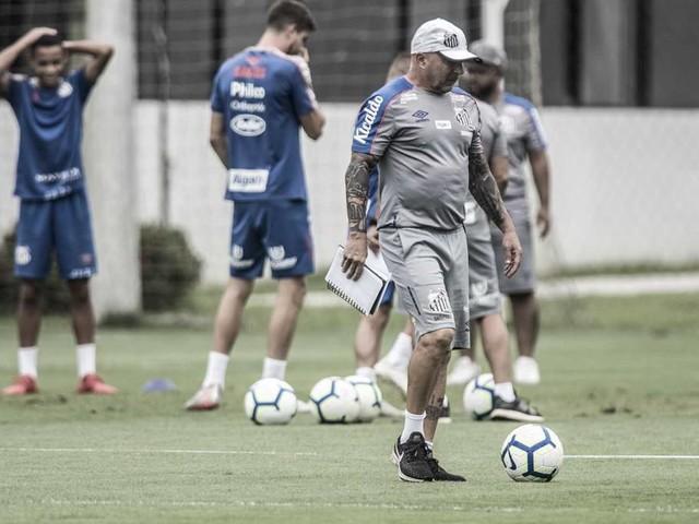 Confira imagens do treino do Santos desta sexta-feira