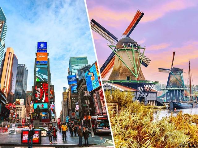 EUA mais Europa! Passagens 2 em 1 para Nova York ou Chicago mais Dublin, Amsterdã, Londres, Paris, Lisboa ou outra cidade a partir de R$ 2.675!