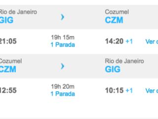 México chamando!!! Passagens para Cozumel, Riviera Nayarit, Acapulco e mais destinos a partir de apenas R$ 1.052!