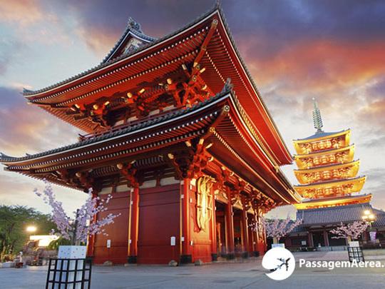 Passagem Aérea para Tóquio a partir de R$ 3.203