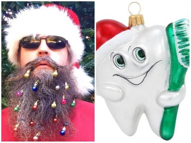 """Barba decorada?! 5 """"decorações"""" de Natal que são no mínimo esquisitas"""