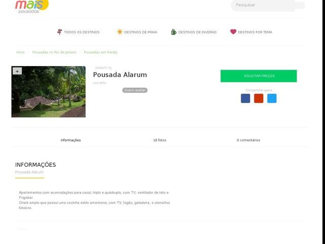 Pousada Alarum - Paraty - RJ