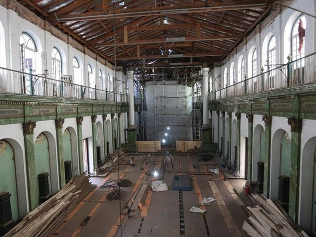 Prédio Igreja Positivista, na Glória, inicia reformas e deverá sediar novo centro cultural